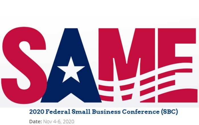 SAME Federal Small Business Conference logo
