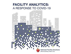 analytics covid 19 response graphic and logo